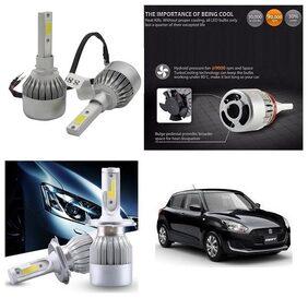 Trigcars Maruti Suzuki Swift 2018 Car LED HID Head Light + Free Gift Bluetooth 250/-