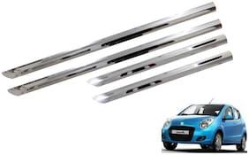 Trigcars Maruti Suzuki A Star Car Steel Chrome Side Beading