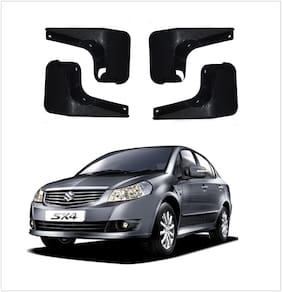 Trigcars Maruti Suzuki SX4 Car Mudflap Set Of 4