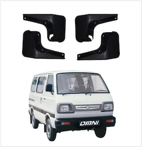 Trigcars Maruti Suzuki Omni Car Mudflap Set Of 4