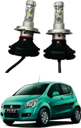 Trigcars Maruti Suzuki Ritz Old Car Glass LED Head Light + Free Gift Bluetooth 250/-