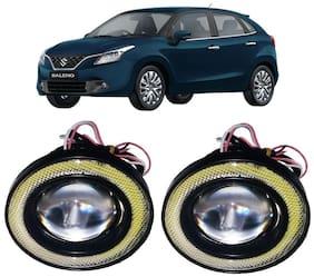 Trigcars Maruti Suzuki Baleno Car Angel Eye Fog Light