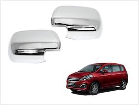 Trigcars Maruti Suzuki Ertiga Old Car Side Mirrors Chrome Plated Cover Set Of 2