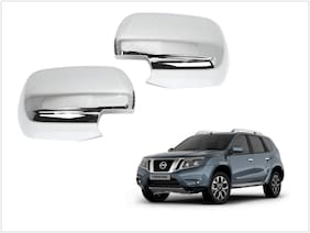 Trigcars Nissan Terrano Car Side Mirrors Chrome Plated Cover Set Of 2
