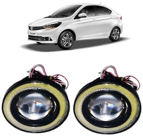 Trigcars Tata Tigor Car Angel Eye Fog Light