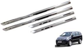 Trigcars Tata Aria Car Steel Chrome Side Beading