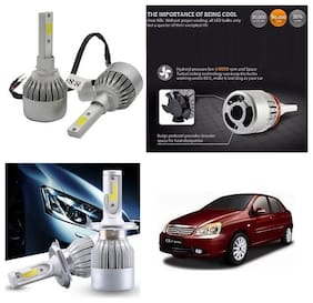 Trigcars Tata Indigo CS Car LED HID Head Light + Free Gift Bluetooth 250/-