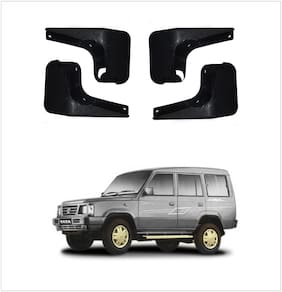 Trigcars Tata Spacio Car Mudflap Set Of 4