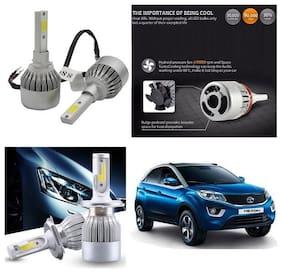 Trigcars Tata Nexon Car LED HID Head Light + Free Gift Bluetooth 250/-