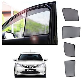 Trigcars Toyota Etios Car Magnetic Sunshade