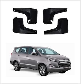 Trigcars Toyota Innova Crysta Car Mudflap Set Of 4