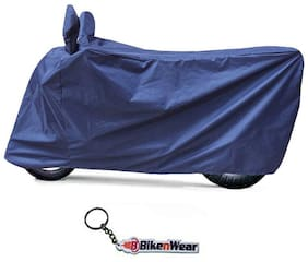 Water Proof  Body Cover For TVS Apache RTR 180 ABS dark blue