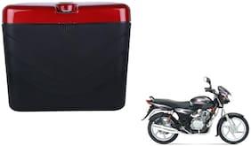 TVS Centra Dua Polo Matt Black Red Side Box Extra Luggage Box