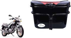 TVS Fiero F2 Side Luggage Box Vivo Black Red Side Box to carry Extra Luggage for Bikes