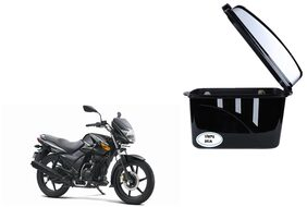 TVS Flame DS125 Extra Luggage Box