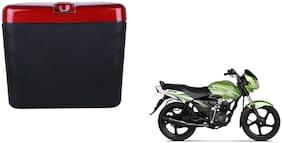 TVS Jive Dua Polo Matt Black Red Side Box Extra Luggage Box