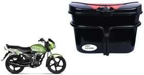 TVS JIve Side Luggage Box Vivo Black Red Side Box to carry Extra Luggage for Bikes