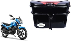 TVS Metro 4R Side Luggage Box Vivo Black Red Side Box to carry Extra Luggage for Bikes