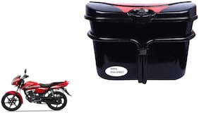 TVS Phoenix 125 Side Luggage Box Vivo Black Red Side Box for Extra Luggage