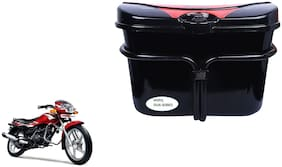 TVS Star Sport Side Luggage Box Vivo Black Red Side Box for Extra Luggage