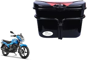TVS Victor Side Luggage Box Vivo Black Red Side Box for Extra Luggage