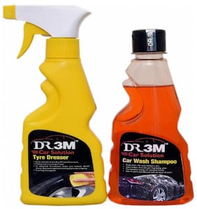 TYRE DRESSER 250ml.+ CAR WASH SHAMPOO 250ml.