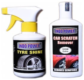 TYRE SHINER GUN 250ml.+SCRATCH REMOVER 200g