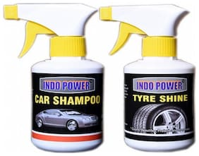 TYRE SHINER GUN 250ml.+CAR SHAMPOO GUN 250ml.