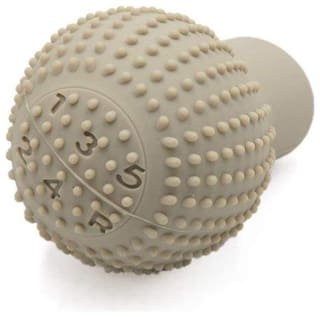 UBH Profession Of Quality Anti-Scratch Bump Shift Knob Protective Cover Case - Beige Color