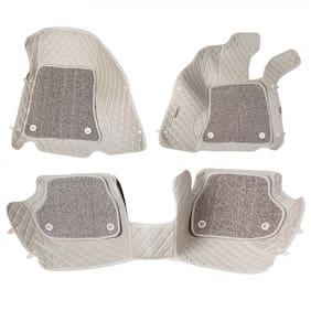 ULS 7D Economy Custom Fitted Car Mats For Chevrolet Cruze - Beige