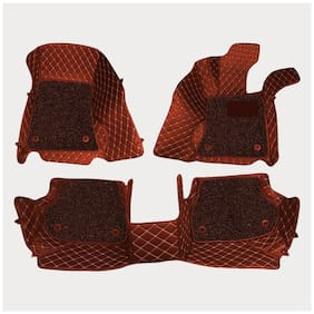 ULS 7D Economy Custom Fitted Car Mats For Ford Figo - Tan