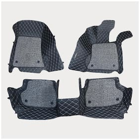 ULS 7D Economy Custom Fitted Car Mats For Nissan Micra - Black