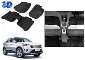 True Vision 3D Floor Foot Mat For Hyundai Creta