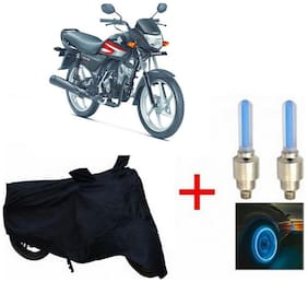 True Vision Champion Bike Body Cover + Tyre LED Blue For Honda CD110 DREAM