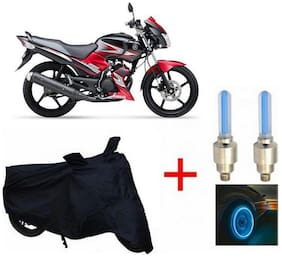 True Vision Champion Bike Body Cover + Tyre LED Blue For Yamaha ss125