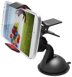 Universal 360 deg Rotation Adjustable Car Mount Holder for Windshield/Dashboard/Working Desk Mount for Phones 1Pc