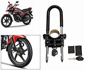 Universal Bike Front Wheel Lock Helmet Lock