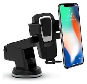 Universal Car Mobile Holder/Long Neck One Touch Car Mount 360° Rotation with Ultimate Reusable Suction Cup for Car Dashboard Mobile Holder