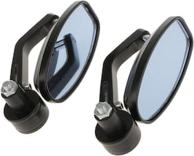 Universal Oval Rear View Mirror for All Bikes