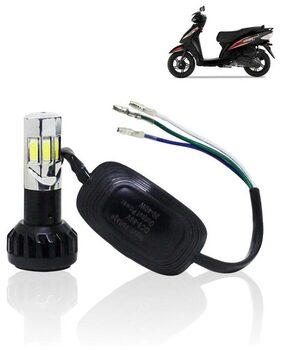 Universal RTD Waterproof Scooty LED Headlight For TVS Wego