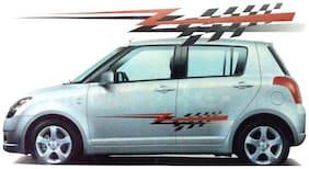 Universal Z Car Graphics 2 Side Decal Body Vinyl Sticker