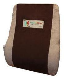 UrbanLifeStylers Orthopaedic Universal Full Backrest Cushion (Brown)