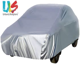 Urbanlifestylers Car Body Cover Compatible For Maruti 800 - Silver