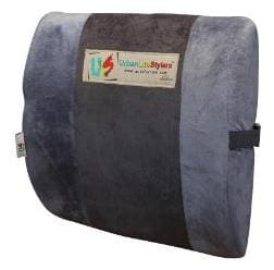 UrbanLifeStylers Orthopaedic Universal Lower Backrest Cushion (Grey)