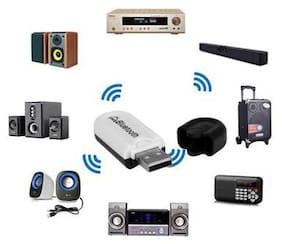 USB Wireless Handsfree Bluetooth Audio Music Receiver Adapter