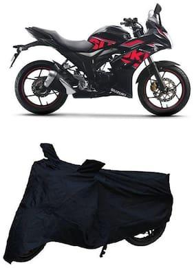 Utkarsh Premium Quality Black Matty Two Wheeler Bike Body Cover For Suzuki Gixxer SF