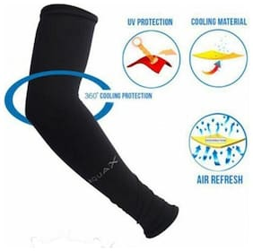 UV Protection Sleeve For Ridding/Racing/Cyclin-AQUA Arm sleeve (Black)