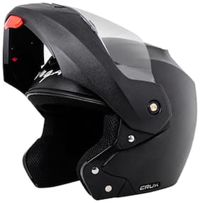 Vega Crux Full Face Helmet Black (1 Piece)