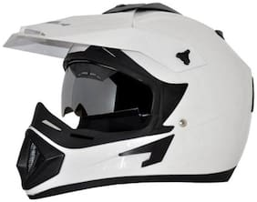 Vega Off Road D/V Motorsports Full Face Helmet White