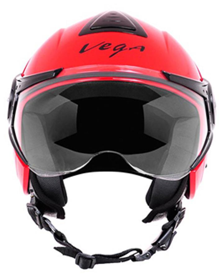 Vega Verve Open Face Helmet Red Paytm Mall Rs. 1295.00